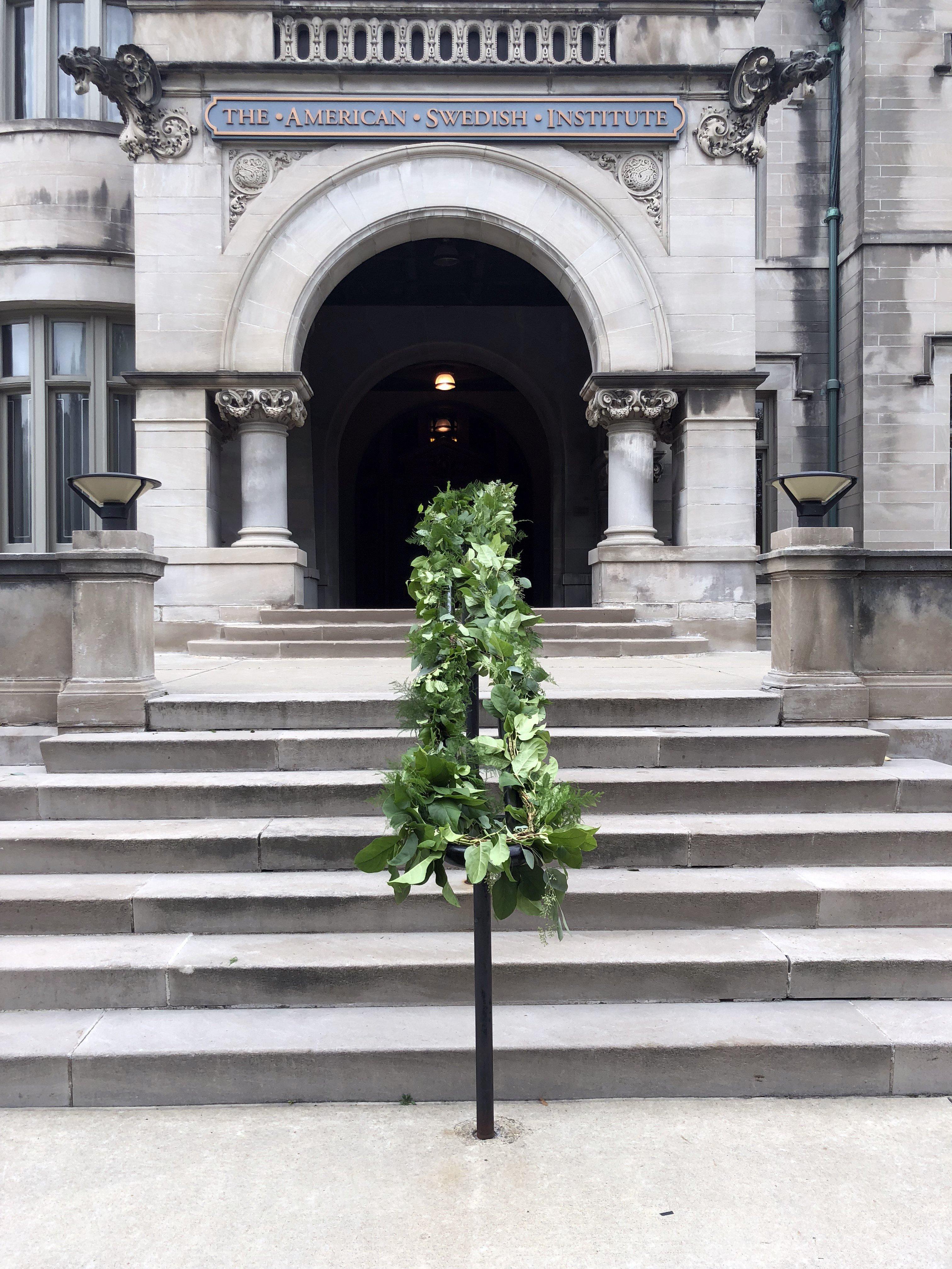 american swedish institute minneapolis wedding stairway ideas